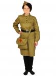 Карнавальный костюм для взрослых Медсестра Военная ВЗР