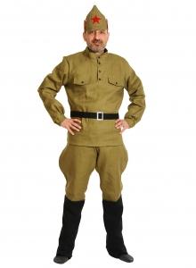 Карнавальный костюм для взрослых Красноармеец ВЗР.