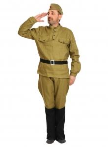 Карнавальный костюм для взрослых Солдат ВЗР