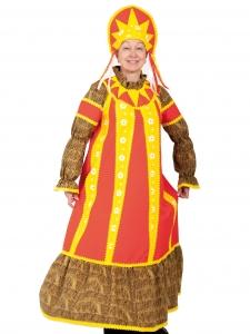 Карнавальный костюм для взрослых Масленица