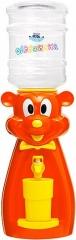 Детский кулер для воды Мышка оранжевая  с желтым - АкваНяня