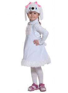Детский карнавальный костюм Пуделиха (ткань плюш)