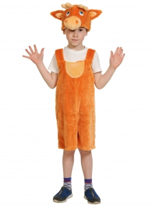 Детский карнавальный костюм из плюша Оленёнок