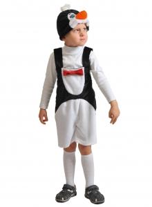 Детский карнавальный костюм из плюша Пингвинчик