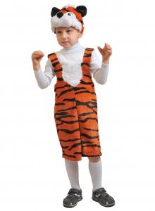 Детский карнавальный костюм из плюша Тигрёнок