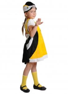 Детский карнавальный костюм из плюша Синичка