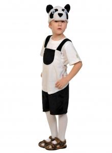 Детский карнавальный костюм из плюша Панда