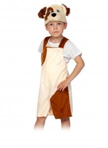 Детский карнавальный костюм из плюша Пёсик