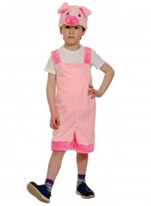 Детский карнавальный костюм из плюша Поросёнок
