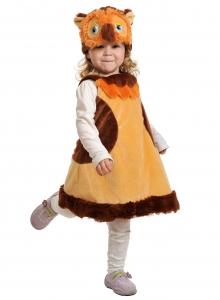 Детский карнавальный костюм из плюша Сова