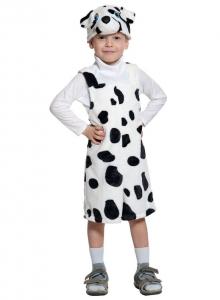 Детский карнавальный костюм из плюша Далматин