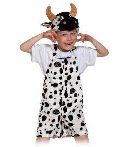 Детский карнавальный костюм из плюша Бычок