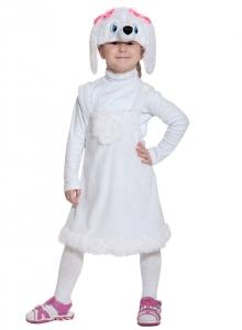 Детский карнавальный костюм из плюша Пуделиха