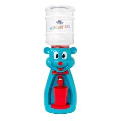 Детский кулер для воды  Мышка бирюзовая с красным — АкваНяня