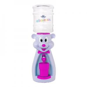 Детский кулер для воды Мышка лаванда с розовым - АкваНяня