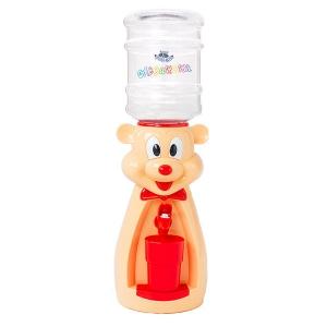 Детский кулер для воды Мышка персиковая с красным - АкваНяня