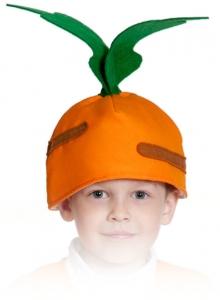 Шапочка морковки
