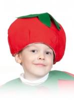 Купить Шапочка помидорки или томата