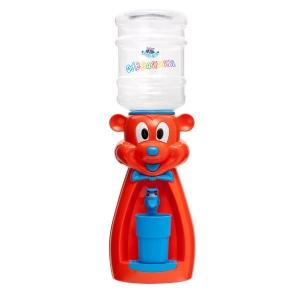 Детский кулер для воды Мышка оранжевая  с голубым - АкваНяня