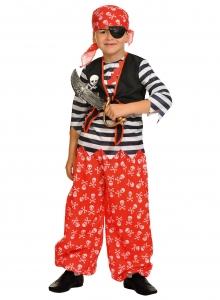 Детский карнавальный костюм Пират Роджер