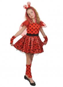 Детский карнавальный костюм Божья Коровка