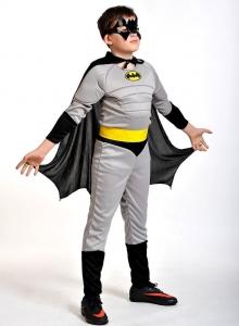 Детский карнавальный костюм Бэтмен - человек-летучая мышь