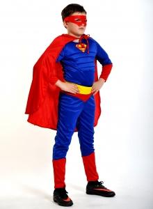 Детский карнавальный костюм Супер-Человек (супермен)