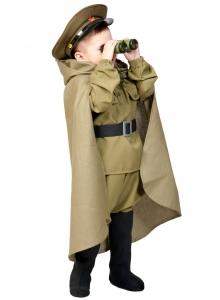 Детский карнавальный костюм Командир с биноклем