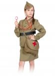 Детский карнавальный костюм Медсестра военная