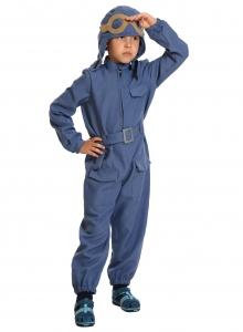 Детский карнавальный костюм Лётчик с пистолетом