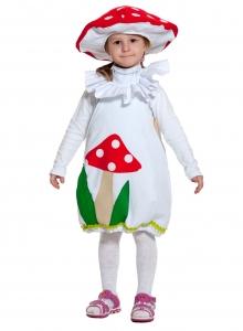 Детский карнавальный костюм Гриб Мухомор