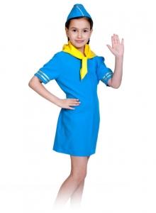 Детский карнавальный костюм стюардесса