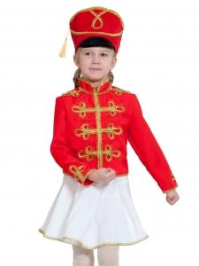 Детский карнавальный костюм Мажоретка (текстиль)