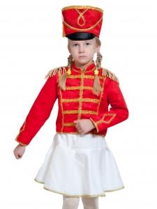 Детский карнавальный костюм Мажоретка (замш)