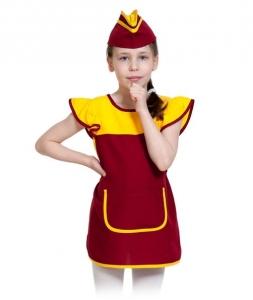 Детский карнавальный костюм продавщица
