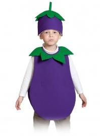 Детский карнавальный костюм Баклажан