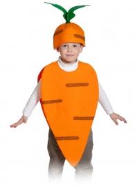 Детский карнавальный костюм Морковка