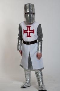 Детский карнавальный костюм рыцарь крестоносец