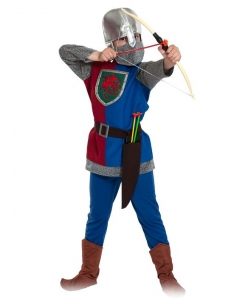 Детский карнавальный костюм рыцарь лучник