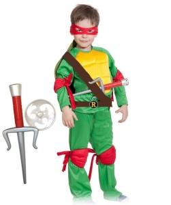 Детский карнавальный костюм черепашка ниндзя Рафаэль (Raph)