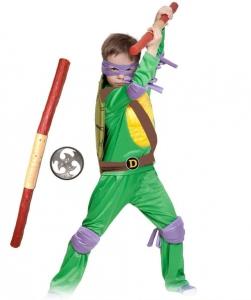 Детский карнавальный костюм черепашка ниндзя Донателло (Donnie)