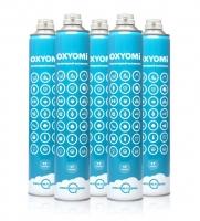 Купить Кислородные баллончики «OXYOMi», 17л (КОМПЛЕКТ 5 ШТУК)