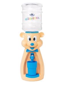 Детский кулер для воды Мышка персиковая с голубым - АкваНяня