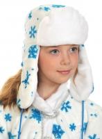 Купить Ушанка новогодняя белая