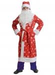 Детский карнавальный костюм ДЕД МОРОЗ ткань-плюш