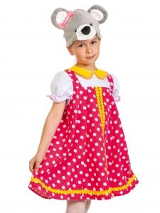 Детский карнавальный костюм Мышка Норушка