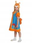 Детский карнавальный костюм Белочка Умелочка