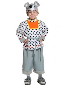 Детский карнавальный костюм Мышонок Шуршонок