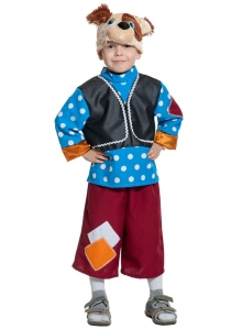 Детский карнавальный костюм Пёсик Барбосик