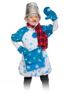 Детский карнавальный костюм Снеговик Почтовик